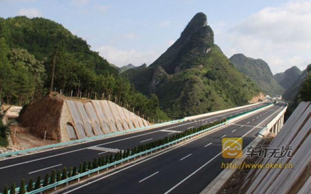 再由广西至龙邦高速公路直接出中国与越南交界的龙邦,远比都匀或兴义